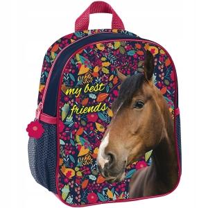 bf6df66c95bb3 Plecaczek przedszkolny z koniem w liście PPKG18-303