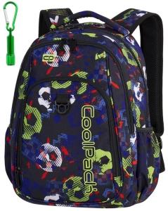 f8220a069eb16 CoolPack FOOTBALL + LATARKA Strike plecak szkolny
