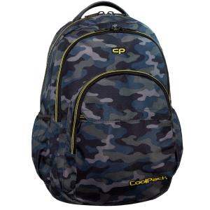 dad1fd4af0c07 CoolPack MILITARY Basic plecak szkolny, młodziezowy, sportowy, szare moro  B03008