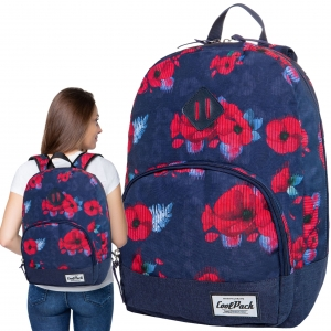 1d8ad9d045a7f CoolPack RED POPPY CLASSIC Vintage 20l plecak szkolny