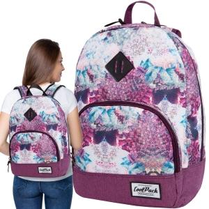 6c665a5aac9d5 CoolPack DREAM CLOUDS CLASSIC Vintage 20l plecak szkolny, młodzieżowy,  sportowy, senne różowe chmury