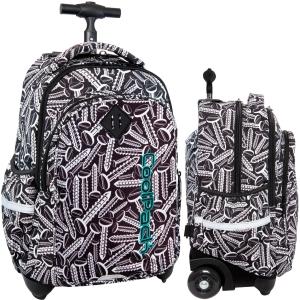 e4917d91e4f06 CoolPack SCREWS Junior 34l plecak szkolny na kółkach śrubki B28033