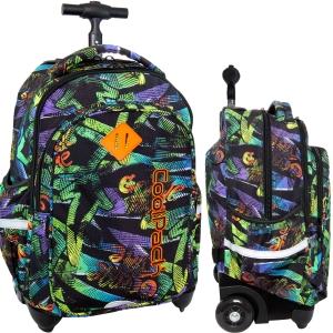 00b3555b67b08 CoolPack GRUNGE TIME Junior 34l plecak szkolny na kółkach B28035