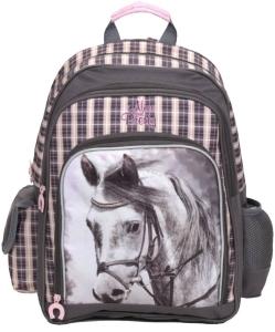 355651cf42537 Plecak szkolny dla dziewczynki KOŃ, kolekcja Nice and Pretty BENIAMIN 605845