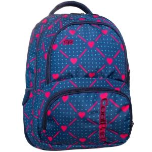 a879cc3c019f5 CoolPack HEART LINK SPINER plecak szkolny, młodzieżowy, sportowy, serduszka  B01009