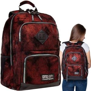 99994225865b5 Plecak młodzieżowy CoolPack UNIT DIAMOND BRICK czerwony