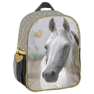 dc7eb7a88a711 Plecaczek przedszkolny koń z serduszkami PP19H-303