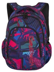 64114b68a4b98 CoolPack CRAZY PINK ABSTRACT + TORBA TERMICZNA Prime plecak szkolny