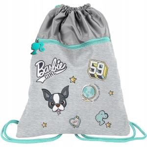 ba4d41a58ad77 Worek szkolny dwukomorowy dla dziewczyny Barbie Girl BAR-713