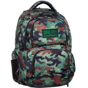 0603db133b7da CoolPack CAMO GREEN Fusion plecak szkolny