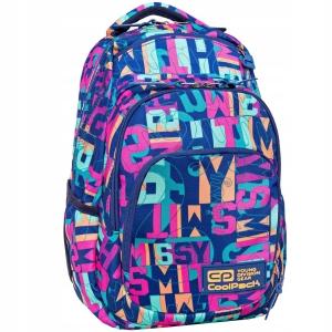 a598e77ff55b0 Plecak szkolny CoolPack Vance dla dziewczyny kolorowy alfabet B37100