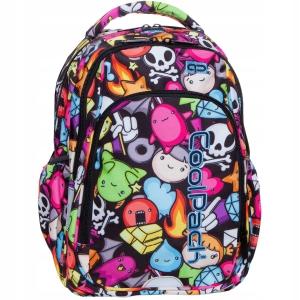 d7eb9c95f9bd6 Plecak szkolny CoolPack Doodle Strike S dla dziewczyny w kolorowe gryzmoły  B17040