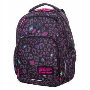 62c1a42d05454 Plecak szkolny CoolPack Break Black Panther dla dziewczyny czarna panterka  B24044