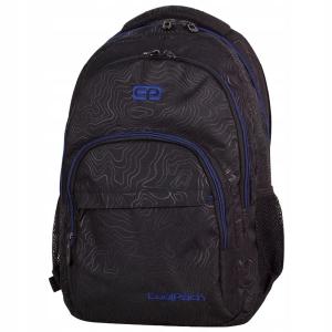 6594f44efe9c8 CoolPack Basic Topography Blue plecak szkolny, młodzieżowy, sportowy,  71475CP