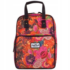 3226e7b5ddad1 CoolPack CUBIC FLOWER EXPLOSION plecak szkolny, młodzieżowy, sportowy,  12232CP