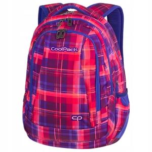 ed89f0967cabd CoolPack Plecak młodzieżowy Combo Mellow Pink w kolorową kratkę 2w1 81983CP