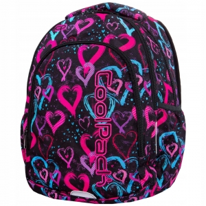 1dad4c9600a8f CoolPack Plecak młodzieżowy Prime Drawing Hearts B25038