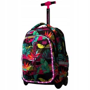 dc85cc2175edf CoolPack CP JUNIOR PARADISE - RAJ Świecący plecak szkolny na kółkach A28214