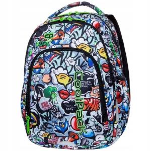 49879a06ed0a7 CoolPack GRAFFITI Strike S plecak szkolny, młodziezowy, sportowy, A17201