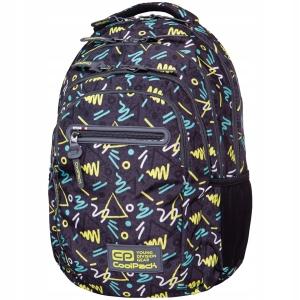 1ae11676f708b Plecak szkolny CoolPack 5 przegród + nowość kieszeń RFID - blokująca sygnał  telefonów wzory i zygzaki
