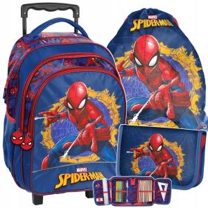 ab5e9d01c1dc1 3-elementowy zestaw szkolny Paso dla chłopaka Spiderman SPU-300,001,712