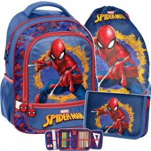 1fdc40a8b5727 3-elementowy zestaw szkolny Paso dla chłopaka Spiderman SPU-260,001,712