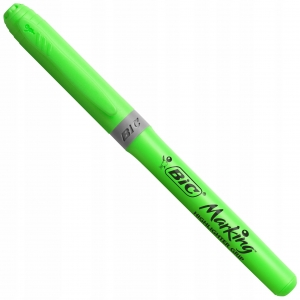 Flamaster marker zakreślacz Bic Hightlighter Grip zielony 12524