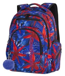 dfafd09c30825 CoolPack HAWAIAN BLUE + POMPON Flash plecak szkolny