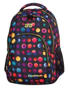 85000699241af CoolPack CONFETTI Kolorowe Kropki Basic 27L plecak szkolny, młodzieżowy,  sportowy, 2 przegrody 69137CP