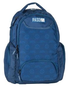 8ae074e979f26 Plecak młodzieżowy PASO, szkolny, dwie przegrody Młodzieżowy Miejski  17-2908UN