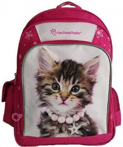 16d720ba8a568 Plecak szkolny dla dziewczynki Kot w koralach, kolekcja Sweet Pets BENIAMIN  605497