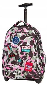da6e7522f36c CoolPack MORO PINK BENTLEY Junior 34l plecak szkolny na kółkach A28112