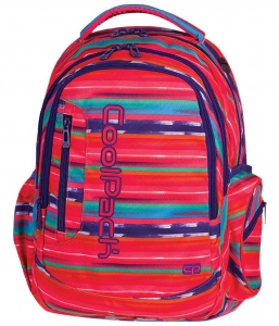 591949583258c CoolPack TEXTURE STRIPES Leader 31l plecak szkolny, młodzieżowy, sportowy,  trzy przegrody 72960CP (