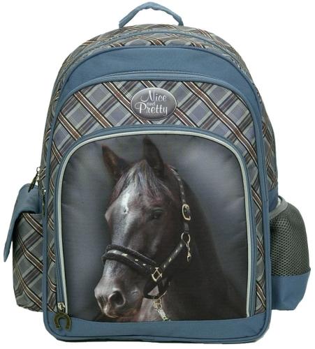 97d620a56c6e1 Plecak szkolny dla dziewczynki KOŃ