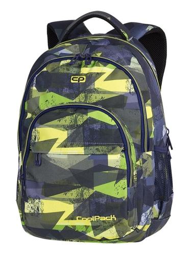 446b9f0cef33d CoolPack LIME ABSTRACT Basic plecak szkolny