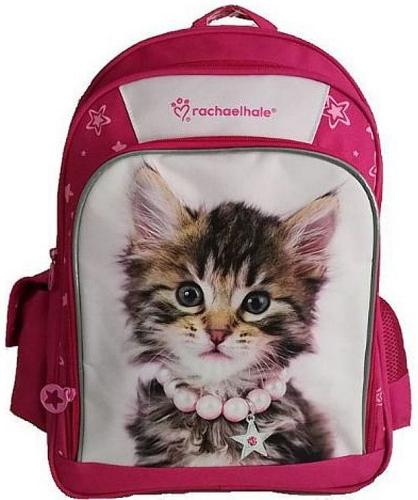 ad2274b8d Plecak szkolny dla dziewczynki Kot w koralach, kolekcja Sweet Pets BENIAMIN  605497