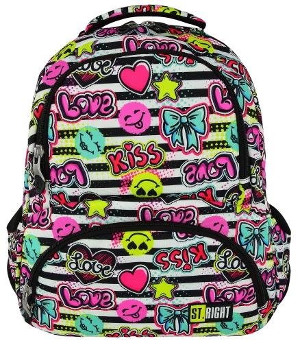 63a1d7df22523 ST.RIGHT BP-07 KISS   LOVE Plecak Młodzieżowy