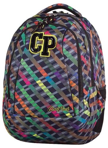 23c04998ee784 CoolPack RAINBOW STRIPES 2w1 COMBO 29l duży plecak szkolny ...