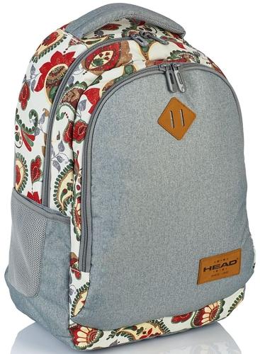 cc3ea037d3a8d Plecak szkolny młodzieżowy HEAD szary dla dziewczyny HD-76 - plecaki ...