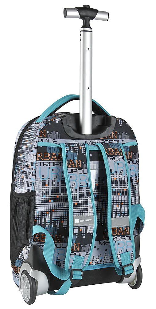 e47871ac012e7 Młodzieżowy plecak szkolny na kółkach Unique PASO - 17-1230 UM City ...