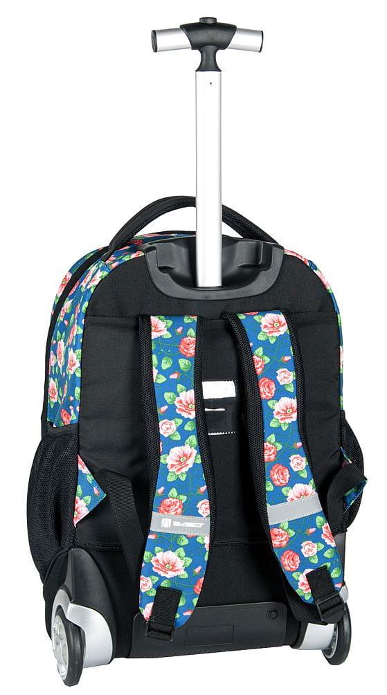 5edcf88844d10 Młodzieżowy plecak szkolny na kółkach Unique PASO - 17-1230 UV ...