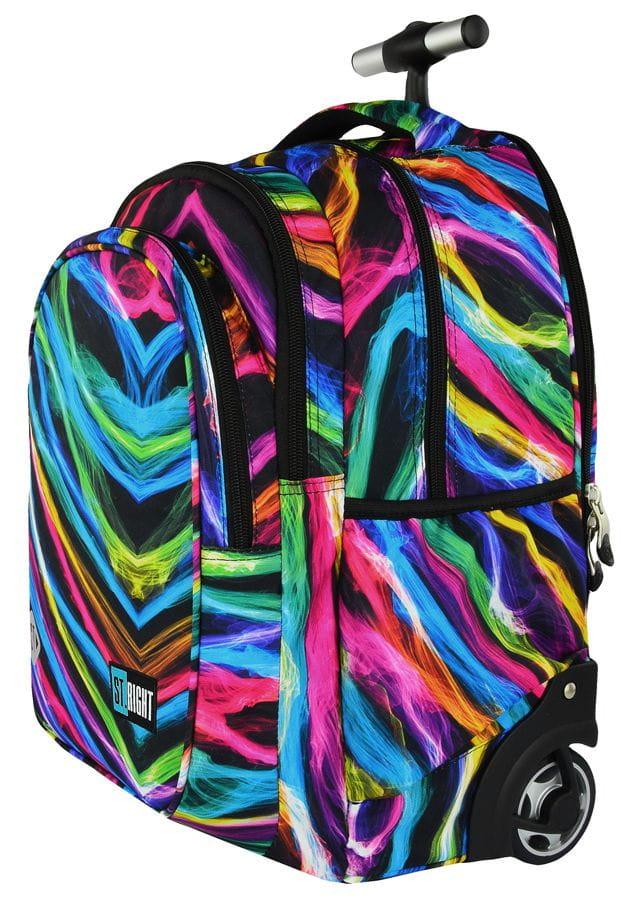 5ded6b34bddc7 Plecak na kółkach ST.RIGHT TB-01 NEW ILLUSION - kolorowe iluzje ...