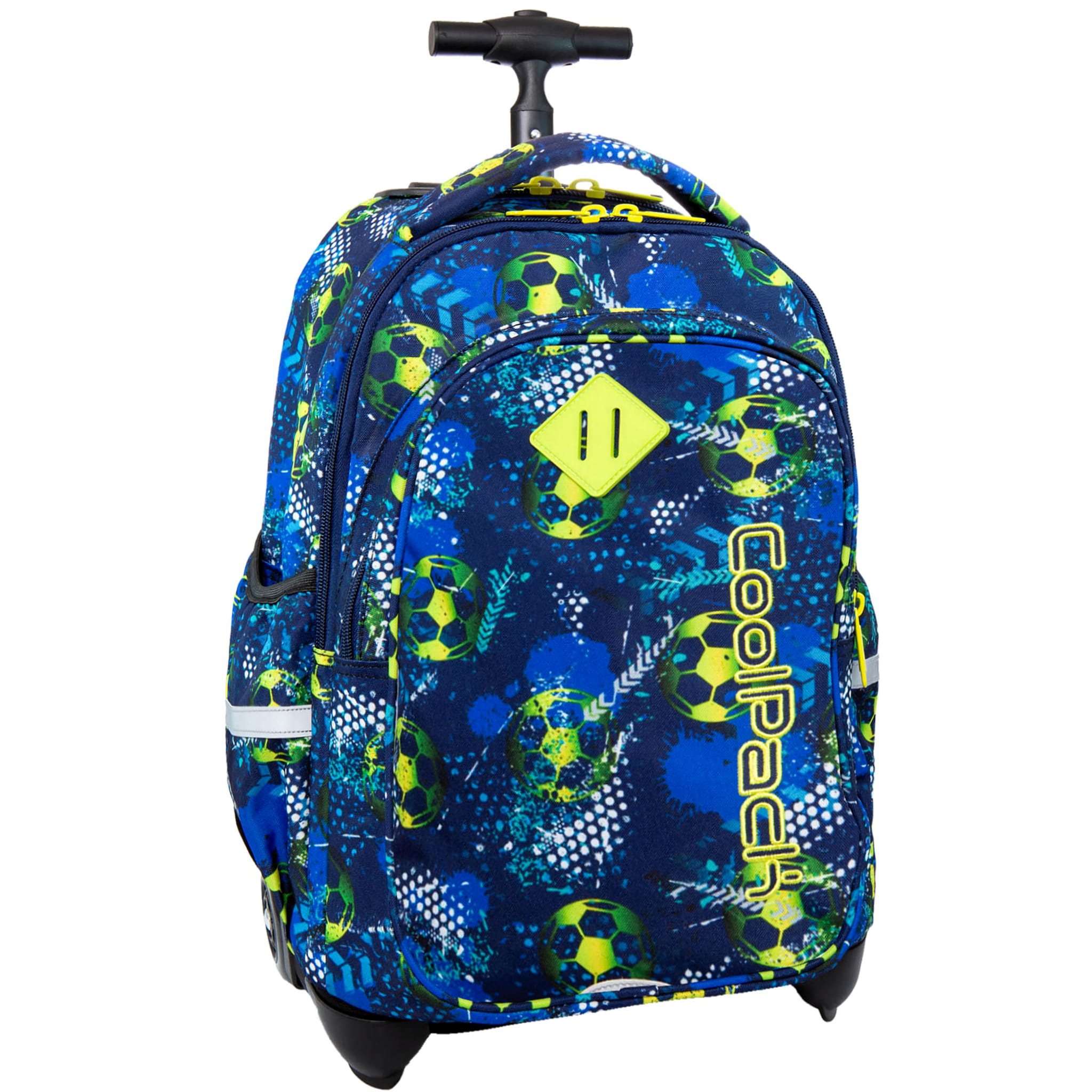 e7ef967d93dbe CoolPack FOOTBALL BLUE Junior 34l plecak szkolny na kółkach piłka nożna  B28037. FOOTBALL - 1.jpg. nowość. FOOTBALL - 1.jpg  FOOTBALL - 2.jpg ...