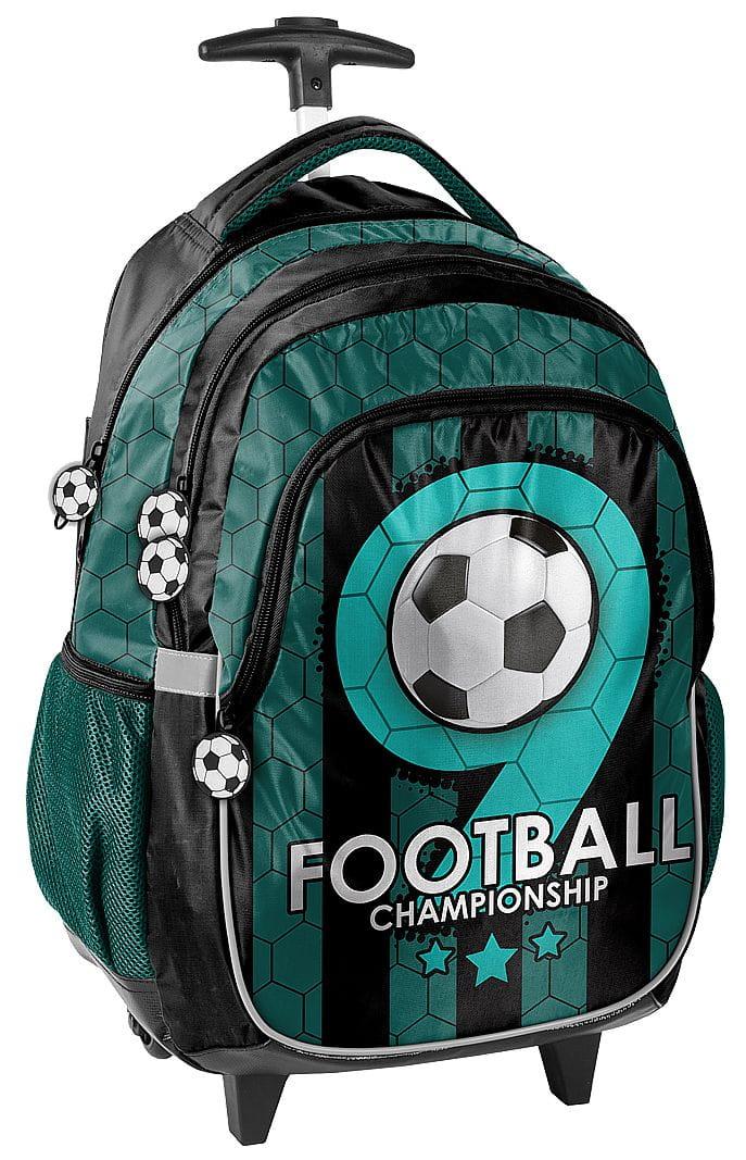 df8926c5c3ee7 Plecak szkolny na kółkach piłka nożna, football PP19F-997 - plecaki ...