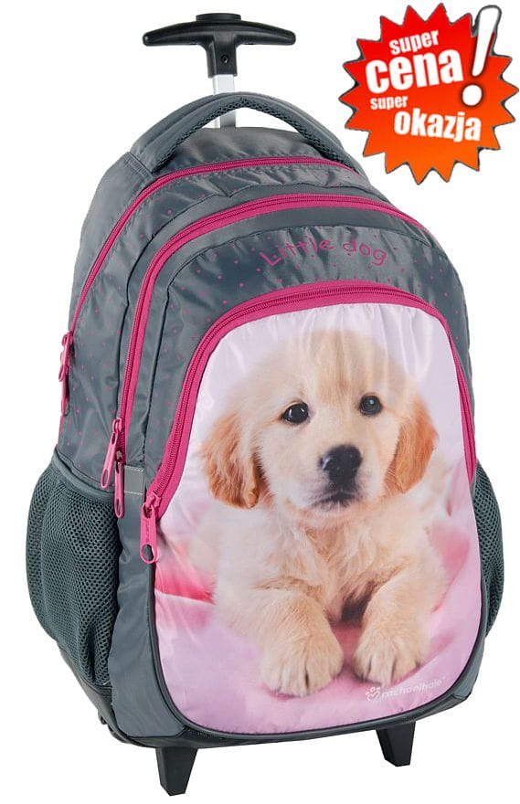 ec24fb0aba57b Plecak szkolny na kółkach Pies Pieski RHB-997KOL licencja Rachael ...