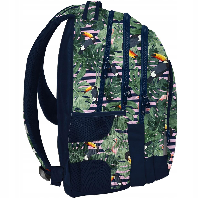 b69916389bec6 Zestaw młodzieżowy 3-elementowy PASO, plecak szkolny na kółkach ...