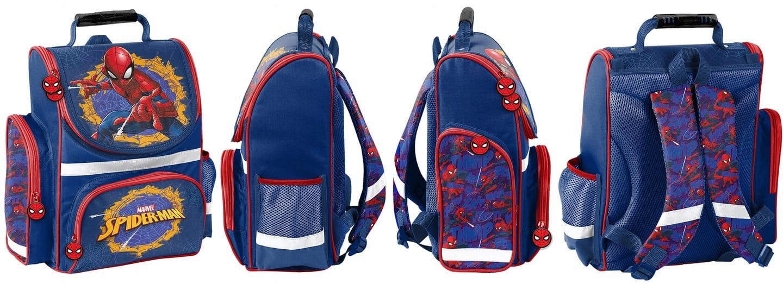 3374fcf2854c9 Tornister szkolny dla chłopaka ze Spierman SPU-525 - plecaki.com.pl