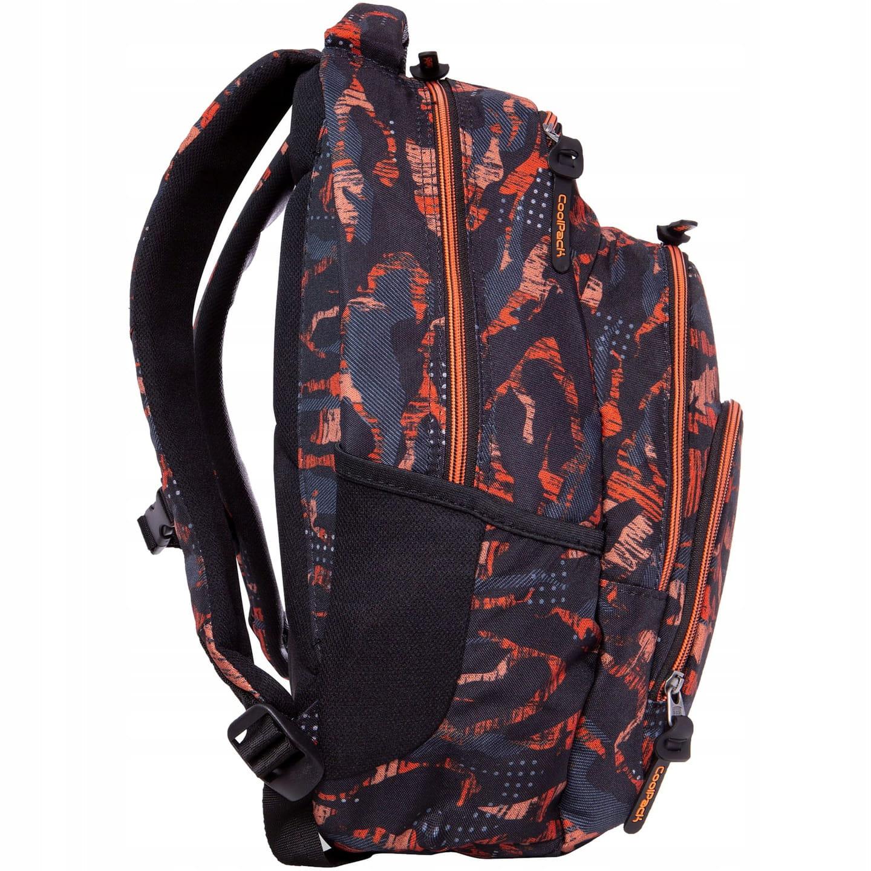 5a52fba0e1650 Plecak szkolny CoolPack Vance dla chłopaka kamuflaż-moro czarno-pomarańczowy  B37098. 1.jpg. nowość. 1.jpg · 2.jpg ...