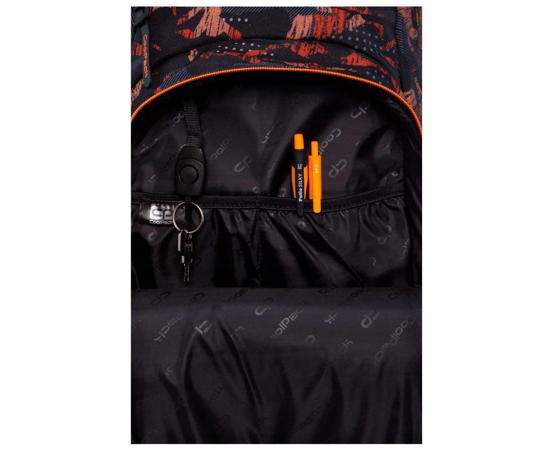 ee6755072646d Plecak szkolny CoolPack Vance dla chłopaka kamuflaż-moro czarno-pomarańczowy  B37098. 1.jpg. nowość. 1.jpg · 2.jpg · 3.jpg · 4.jpg · 5.jpg ...