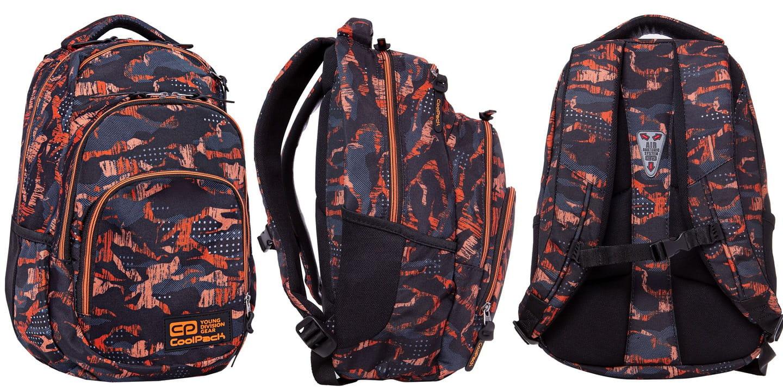 f3896057355b2 Plecak szkolny CoolPack Vance dla chłopaka kamuflaż-moro czarno-pomarańczowy  B37098. 1.jpg. nowość. 1.jpg · 2.jpg · 3.jpg · 4.jpg · 5.jpg · 6.jpg · 7.jpg